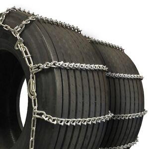 Titan Truck Tire Chains V Bar Cam Type On Road Ice Snow 7mm 35x12 50 18