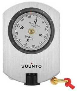 Suunto Ss020417000 Optical Sighting Compass aluminum