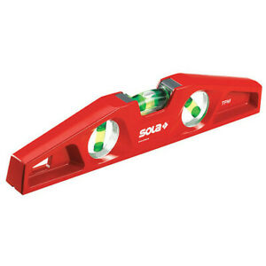 Sola Mm 5 25 Torpedo Level alum 10 In magnetic red