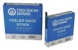 Feeler Gauge high Carbon Steel 0 0060 In Precision Brand 19290