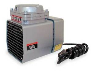 Gast Doa v751 fb Compressor vacuum Pump 1 3 Hp 60 Hz 115v