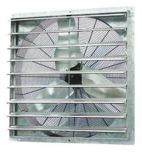 Dayton 1hlb6 Exhaust Fan 36 In 115v 1 2hp 825rpm