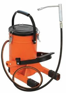 Westward 15f220 Grease Pump With Container 22 Lb