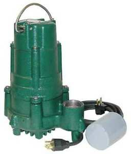 1 Hp 1 1 2 Submersible Sump Pump 115v Piggyback Zoeller 140 0029