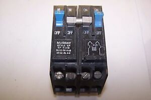 Murray Ep Circuit Breaker 4 Pole 15 40 Amp 240 Vac Murray Ep414s