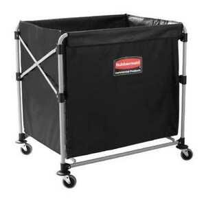 Collapsible Basket X cart 8 Bu Cap Rubbermaid 1881750
