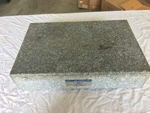 Rock Of Ages 12 X 18 Toolroom Granite Surface Plate