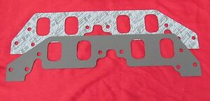 Chevy Big Block Intake Gaskets For Aluminum Heads 030 1 625 X 2 375 3 Pair