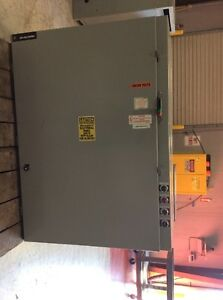 Ge General Electric Cr387g148cbyd Size 5 Combination Starter Breaker Protected