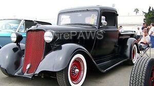 14 X3 Wide White Wall Gangster Style Insert Trim Set Hot Rod Old School