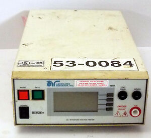 1 Used Associated Research 3605 Hypot Iii Ac Voltage Tester 115 230v 3 15a 50 6