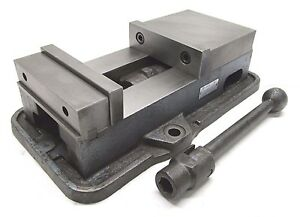 Yuasa Accu lock 6 Milling Machine Vise W Jaws Handle 550 603