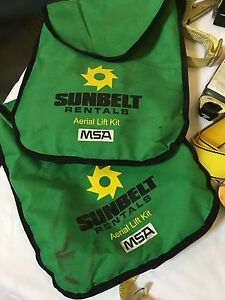 Sunbelt Aerial Lift Kit Safety Harness 10075283 2 Bags
