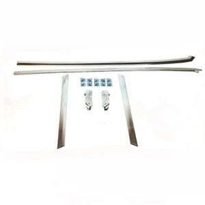 1964 65 Chevelle Gto Lemans Skylark Cutlass Chrome Headliner Molding Kit