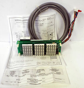 1 New C e Electronics Dh320 r0c2x Dot Matrix Red Led Display