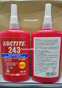 Loctite 243 Blue Medium Strength Thread Locker 250ml 1 Bottle