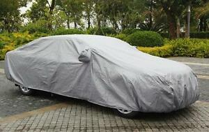 Car Cover Waterproof Sun Uv Snow Dust Rain Resistant Protection For Sedan Size L