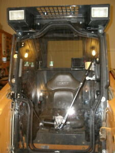 Case 1845c 1 2 Lexan Door Plus Sides Polycarbonate Skid Steer Cab Enclosure