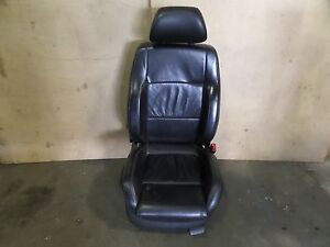 Vw Jetta Gli Right Front Wolfsburg Big Bolster Leather Seat Black Mk4 1j0963556c
