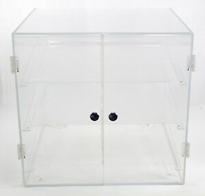 Self serve Bakery Merchandiser Cafeteria Self Serve Pastry Display Case