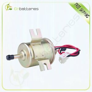 New Gas Diesel Inline Low Pressure Electric Fuel Pump 12v Hep 02a Bhep 02a