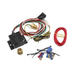 Black Adjustable Electric Cooling Fan Controller Wiring Harness 150 240 Degree