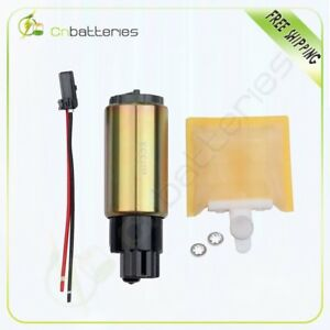 New Electric Fuel Pump Strainer With Installation Kit Universal E2068