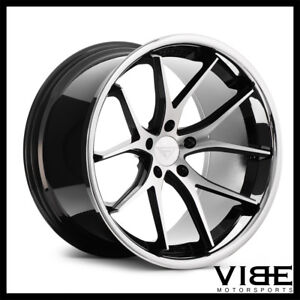22 Ferrada Fr2 Machined Concave Wheels Rims Fits Chrysler 300 300c 300s