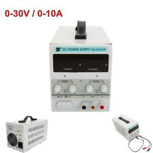 0 10a 0 30v 110v Lcd Dc Power Supply Adjustable Precision Variable Digital Lab