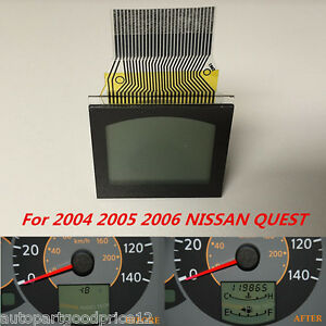 For 2004 06 Nissan Quest Instrument Cluster Speedometer Lcd Display Pixel Repair