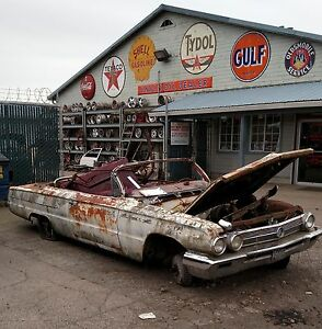 1962 Convertible Buick Invicta Frame Solid Rust Free