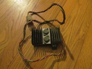 1969 Camaro 8 Track Counsel Mounted Option Wiring Harness Heat Sink