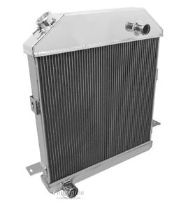 1939 1940 1941 Ford Deluxe 1939 1940 Mercury 3 Row Rs Radiator ford V8 Engine