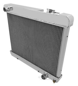1963 1964 1965 1966 Gmc K10 K20 4 Row Rs Aluminum Radiator