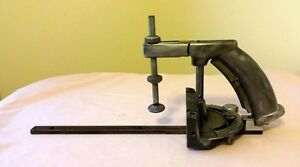 Shopsmith Pistol Grip Holding Miter Gauge For Any 3 4 Slotted Table