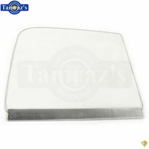 51 54 Chevy Pick Up Pickup Truck Door Window Glass W Track Guide Clear Rh