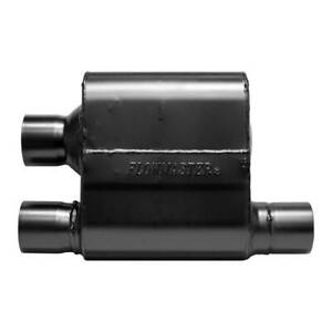 Flowmaster 8425810 Super 10 Series Crossflow Muffler 2 5 Offset In Dual Out