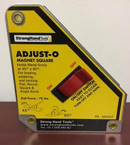 Strong Hand Adjust o Magnet Square Msa47