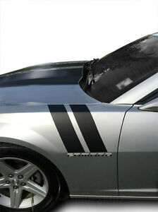 2010 2011 2012 2013 2014 2015 Chevy Camaro Fender Racing Hash Stripes Decal V2