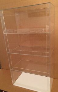 Acrylic Display Case 12 X 7 x 20 5 Tall Convenience Store Counter Top Display
