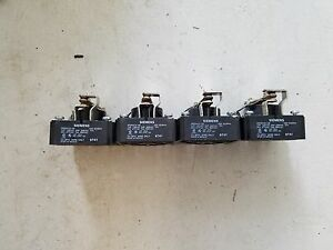 Siemens Spdt Relay Srd5ay0 120 With 120 Volt Coil Lot Of 4