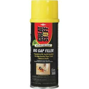 3 great Stuff 12 Oz Cream Color Big Gap Filler Insulating Foam Sealant 157906