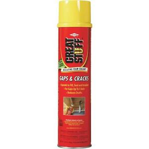 12 Pk Great Stuff 20 Oz Cream Color Gaps Cracks Insulating Foam Sealant 157911