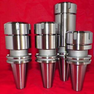 Cat40 Er40 Collet Chucks 4 Pcs Tool Holders 3 15 4 6 Balanced G2 5 20 000rpm