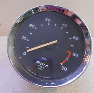 1973 75 Triumph Spitfire Smiths Tachometer Great Shape 2 1jc