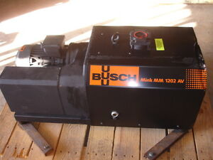 Busch Mink Mm 1202 Av Dry Claw Vacuum Pump New