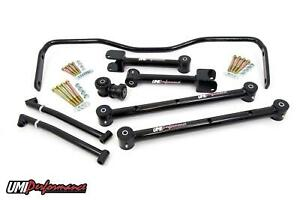 Umi Performance 64 67 Chevelle A body Upper Lower Control Arm Kit W Sway Bar