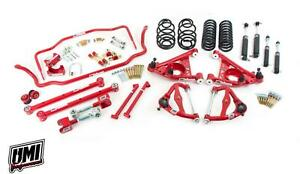 78 88 G body Umi Performance Suspension Handling Package Stg 3 5 Red 1 Lower
