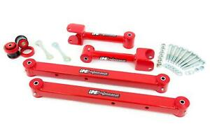 Umi 73 77 Gm A Body Chevelle Rear Upper Lower Control Arm Kit W Hardware Red