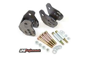 Umi 64 72 Chevelle Gm A Body Rear Lower Control Arm Relocation Brackets Weld In